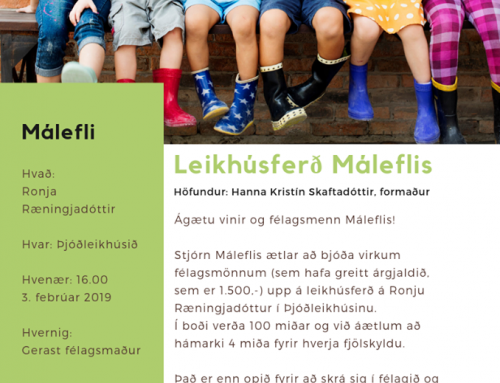 Leikhúsferð Máleflis
